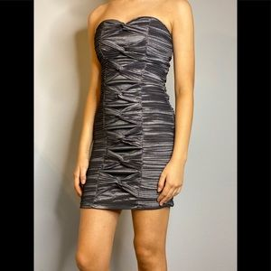 Daisy Gray Bodycon Cocktail Dress